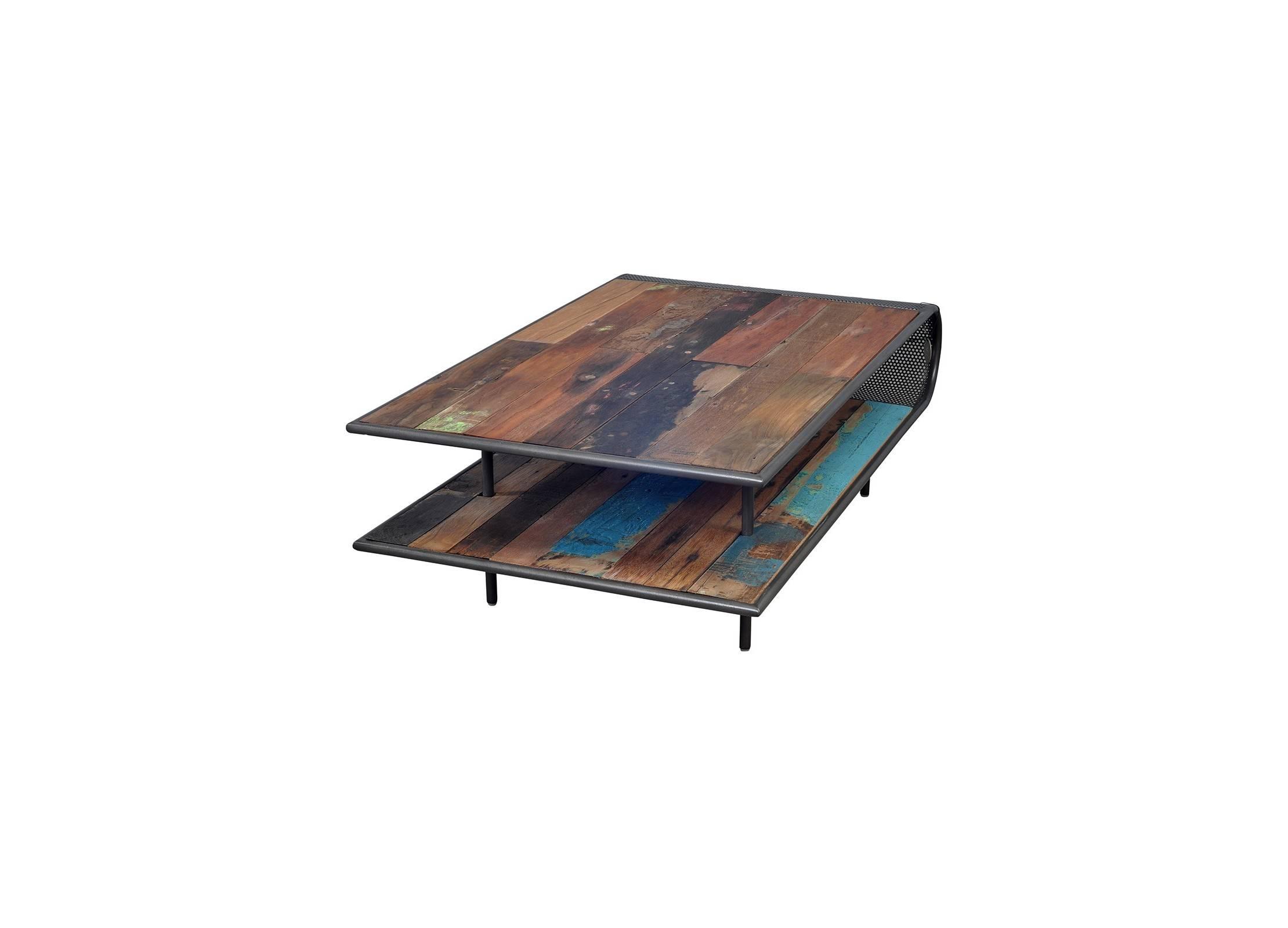 MANUFACTURE Table Basse Rectangulaire double plateau