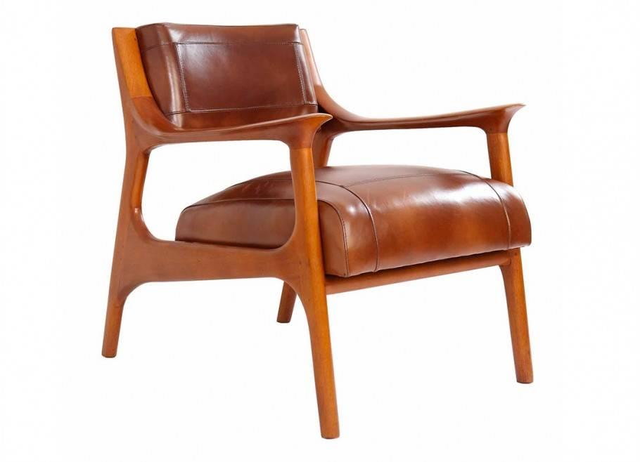 Nordic contemporary club armchair