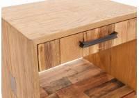 Chevet 1 tiroir Bowtie - finition palette