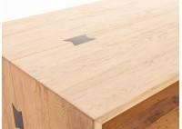 Table basse rectangulaire Bowtie - finition palette