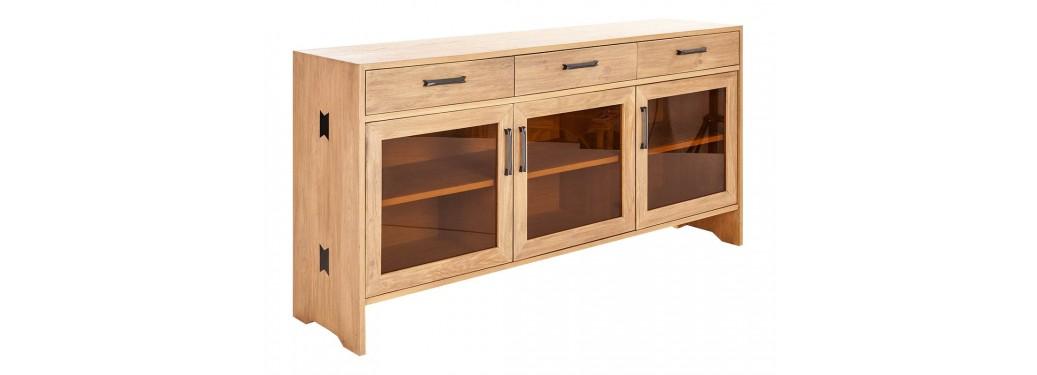 Buffet Bowtie - 3 tiroirs et 3 portes