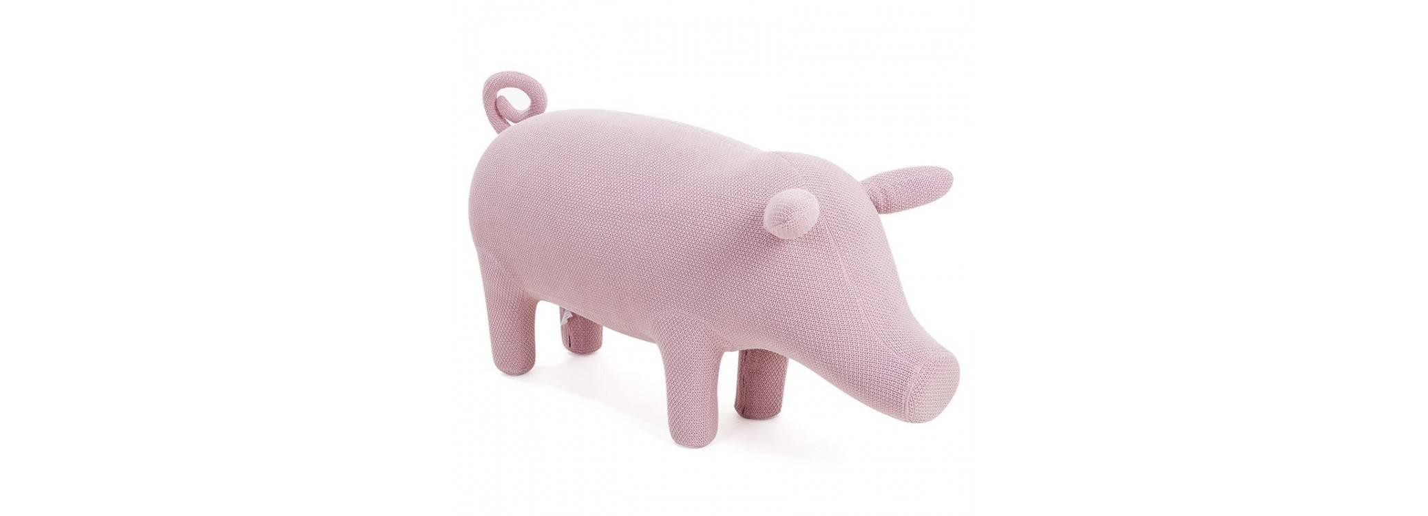 Pouf - tabouret cochon