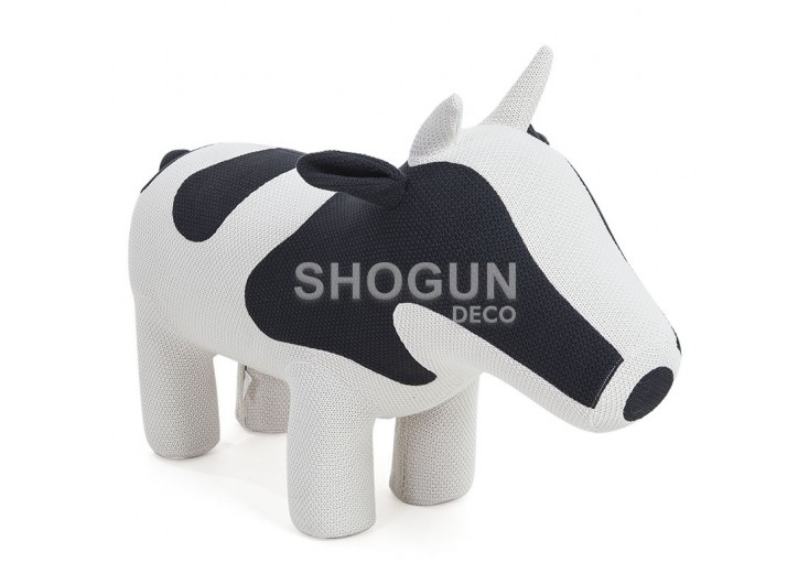 Pouf - tabouret vache. 110 cm