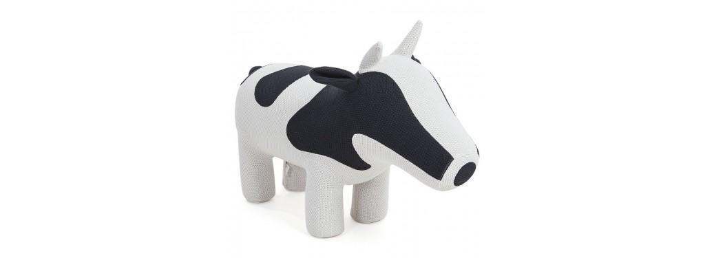 Pouf - tabouret vache
