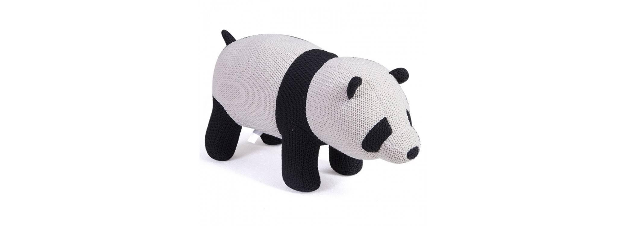 Pouf - tabouret panda