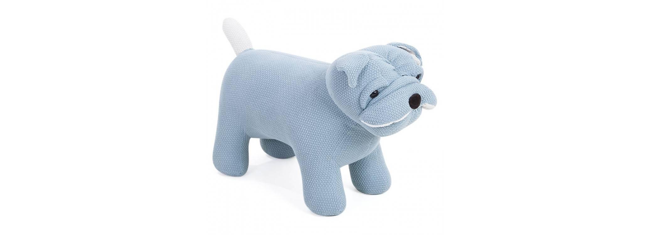 Pouf - tabouret représentant un chien