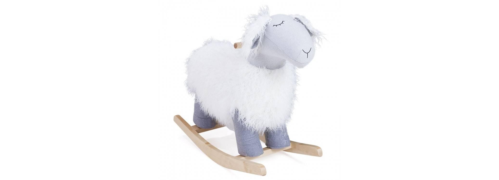 Rocking-chair, mouton à bascule