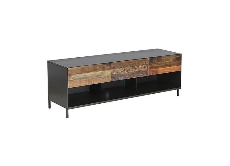 Meuble TV industriel Pure - 3 tiroirs