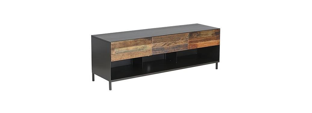 Meuble TV Pure, 3 tiroirs - sans poignée