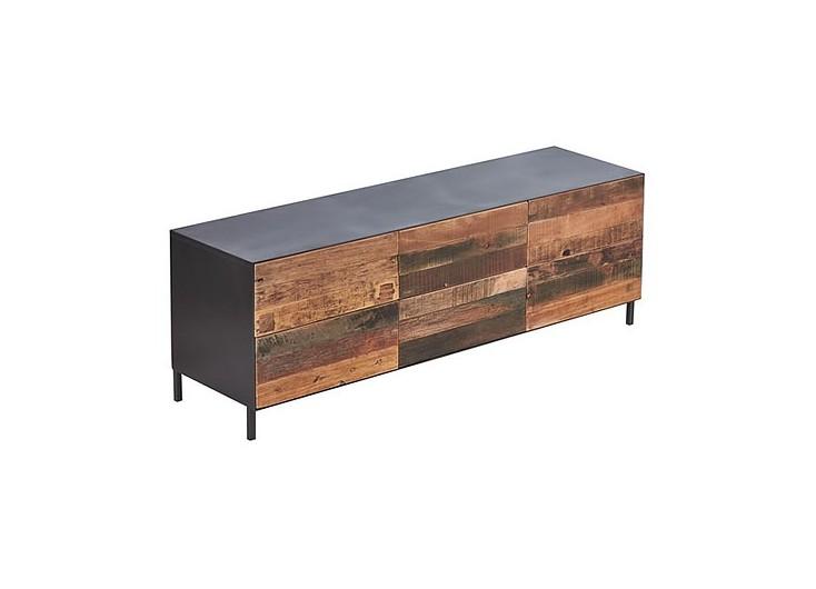 Meuble TV industriel Pure - 6 tiroirs