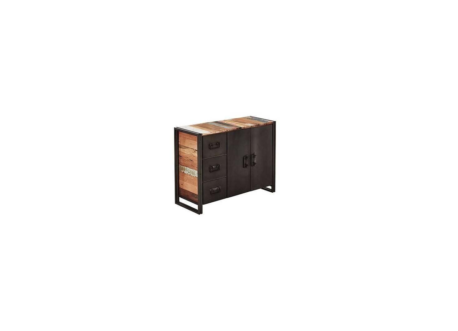 Buffet industriel Edito - 2 portes 3 tiroirs