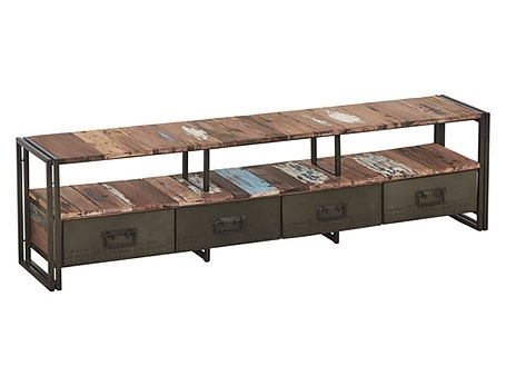 Meuble TV Edito, 4 tiroirs