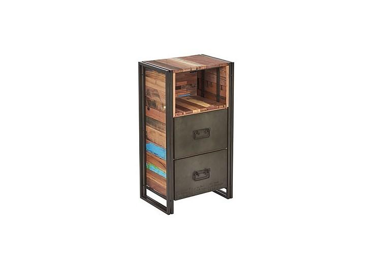 Meuble de rangement industriel Edito - 2 tiroirs
