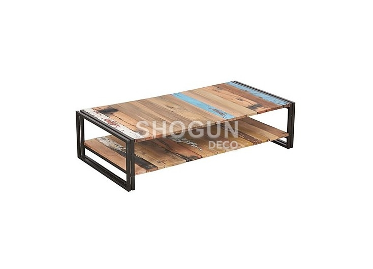 Table Basse Industrielle Rectangulaire Edito