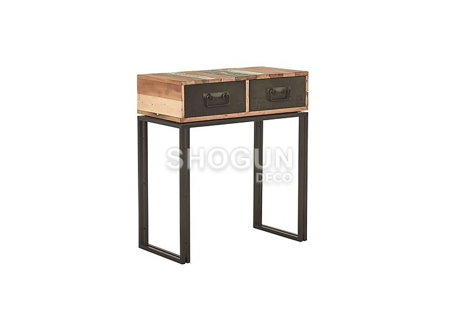 Console industrielle Edito, 2 tiroirs