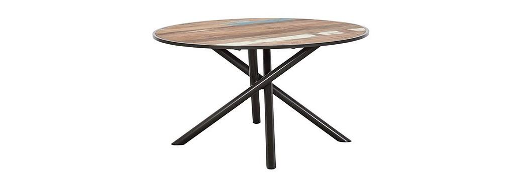Table de repas fixe Influence - ø140cm