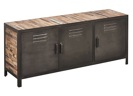 Buffet industrielle Locker - 3 portes