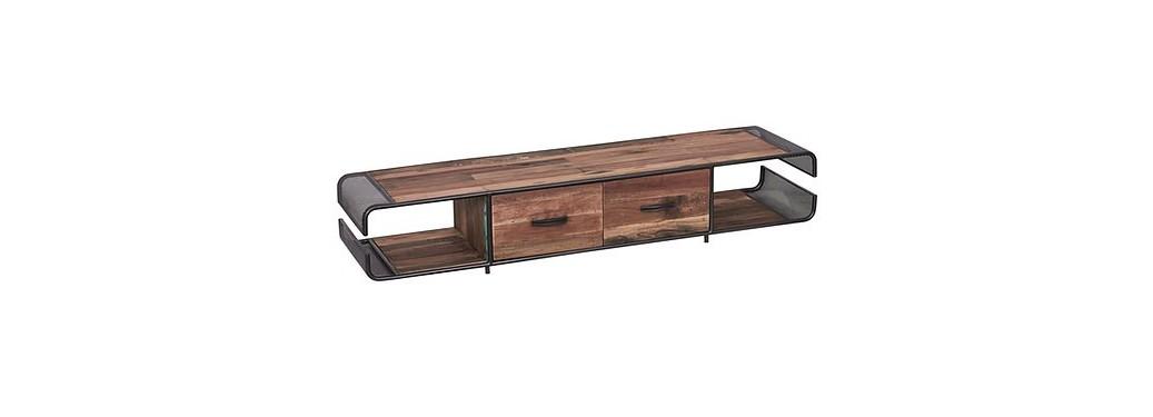 Meuble TV Influence, 2 tiroirs
