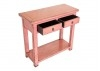 Console Chinoise - 2 tiroirs - Rose
