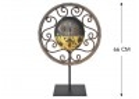 Masque décoratif en métal recyclé - M12