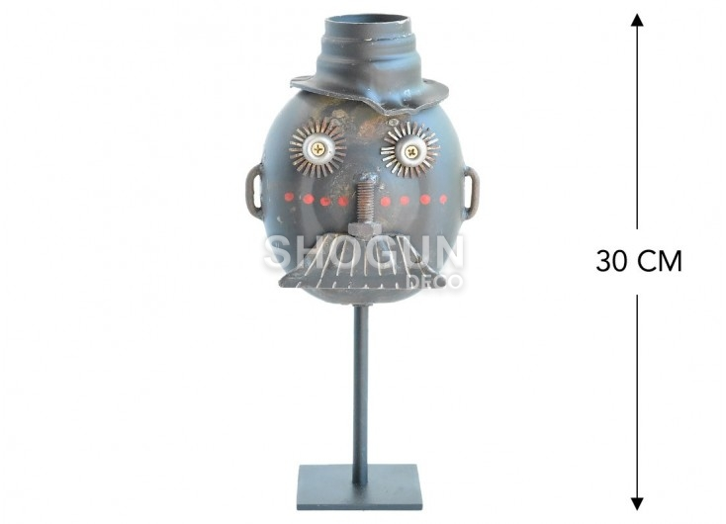 Masque décoratif en métal recyclé - XS18