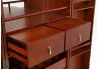 Meuble bar - Malle bar Cap Horn - Grand modèle -  marron foncé