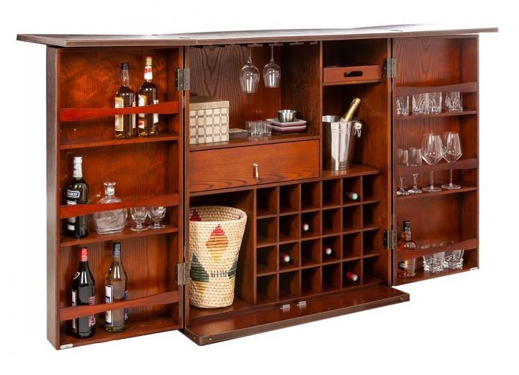 Comptoir bar déployant Cap Horn - marron