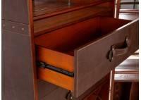 Malle bar grande hauteur, Cap Horn - marron foncé