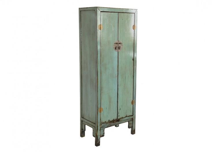 Armoire Chinoise - 2 portes - Vert d'eau