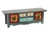 Meuble télé Chinois- 2 portes 3 tiroirs - Multicolore