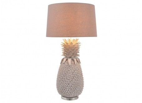 Lampe Ananas Blanche - grand format