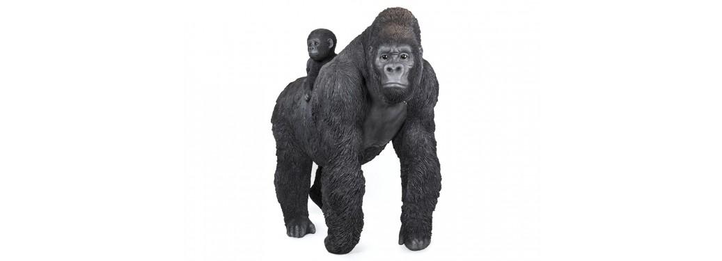 Statue réaliste - Gorille