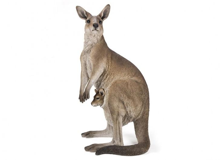 Statue réaliste Kangourou