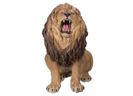 Statue réaliste Lion