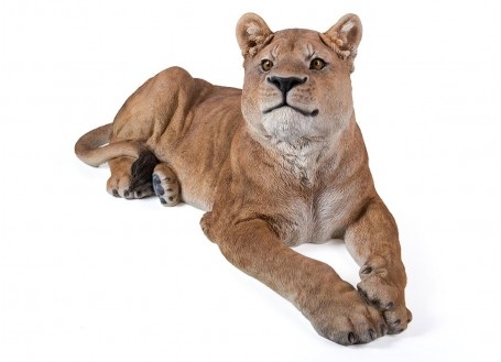 Statue réaliste Lionne