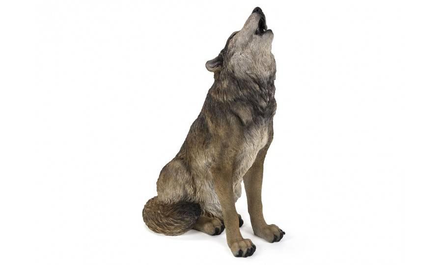 Statue réaliste Loup