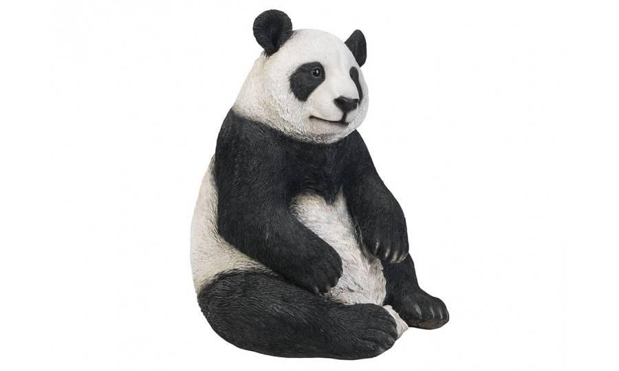 Statue réaliste Panda