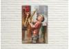 Tableau en métal en relief - Saxophoniste