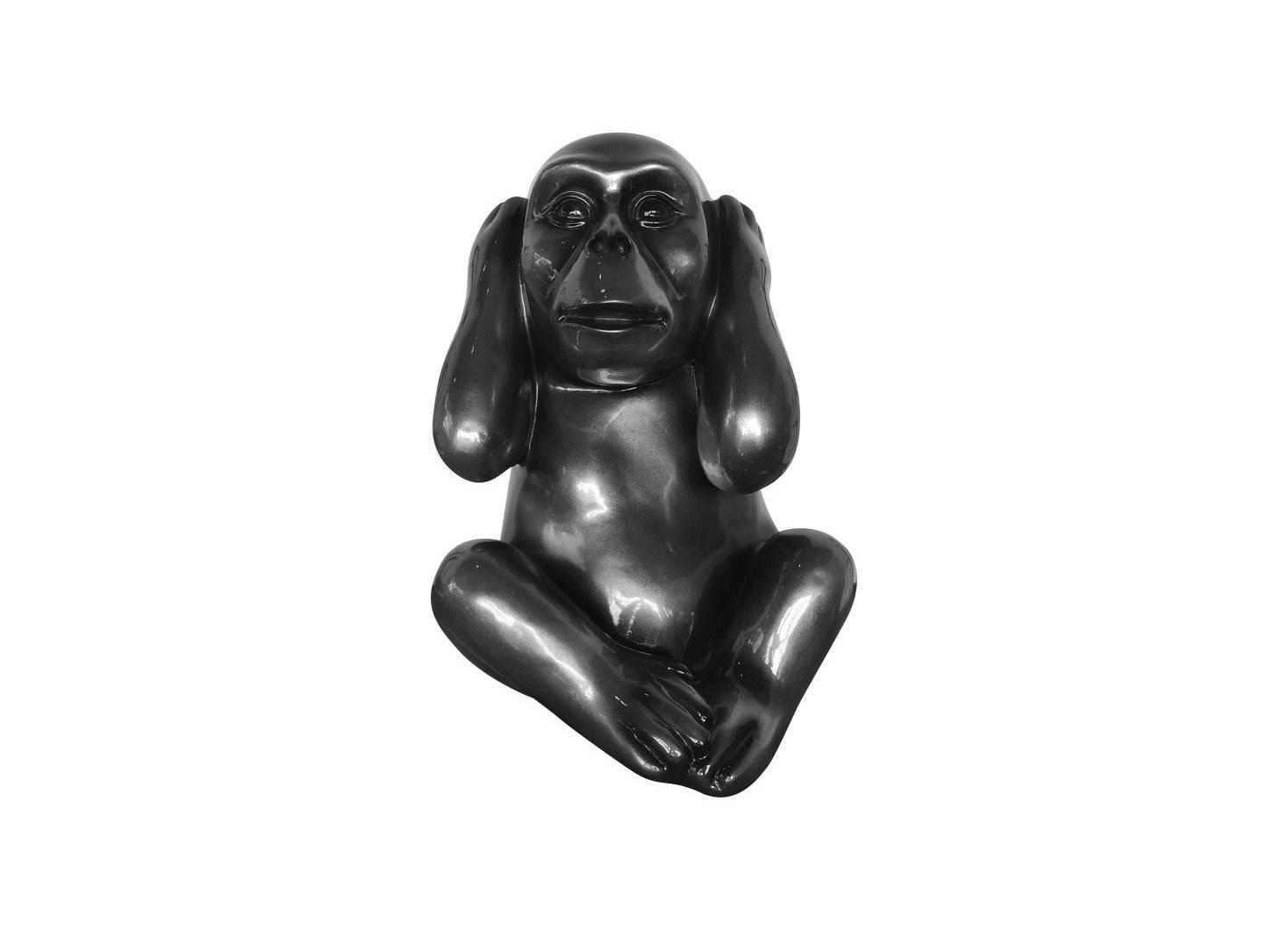 Wise monkey statue