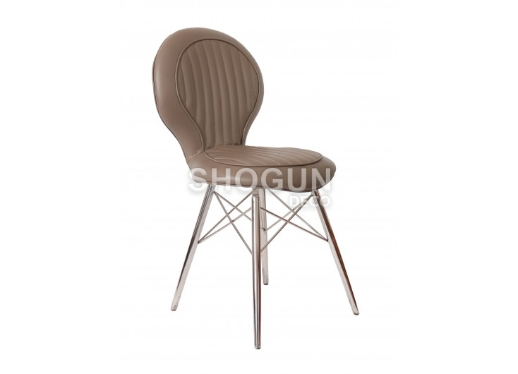 Aviator chair - Taupe leather