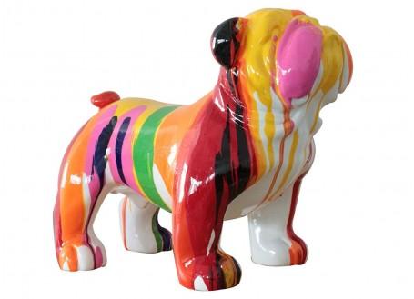 Statue Bulldog anglais