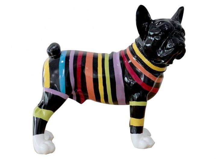 Statue Bulldog français