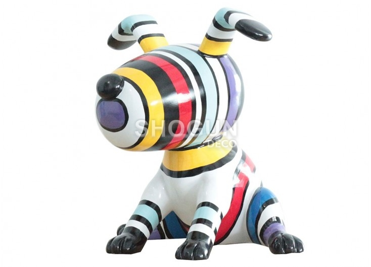 Statue chien snoopy