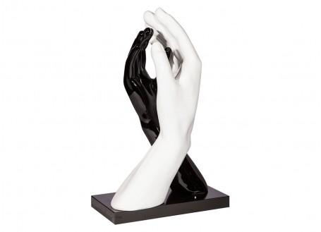 Hands statue in resine