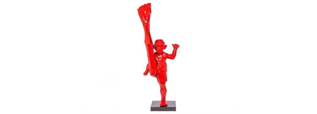 Statue ninja en résine