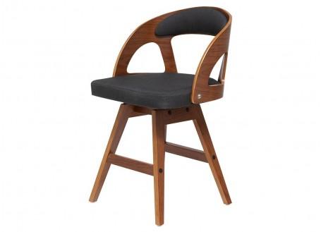 Chaise pivotante design en tissu