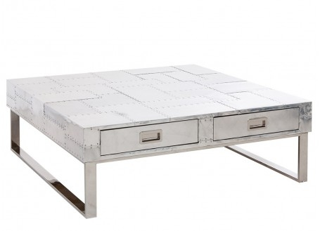 Table basse Xeria en aluminium