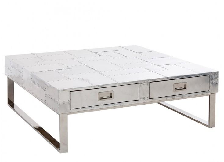 Table basse Xeria en aluminium