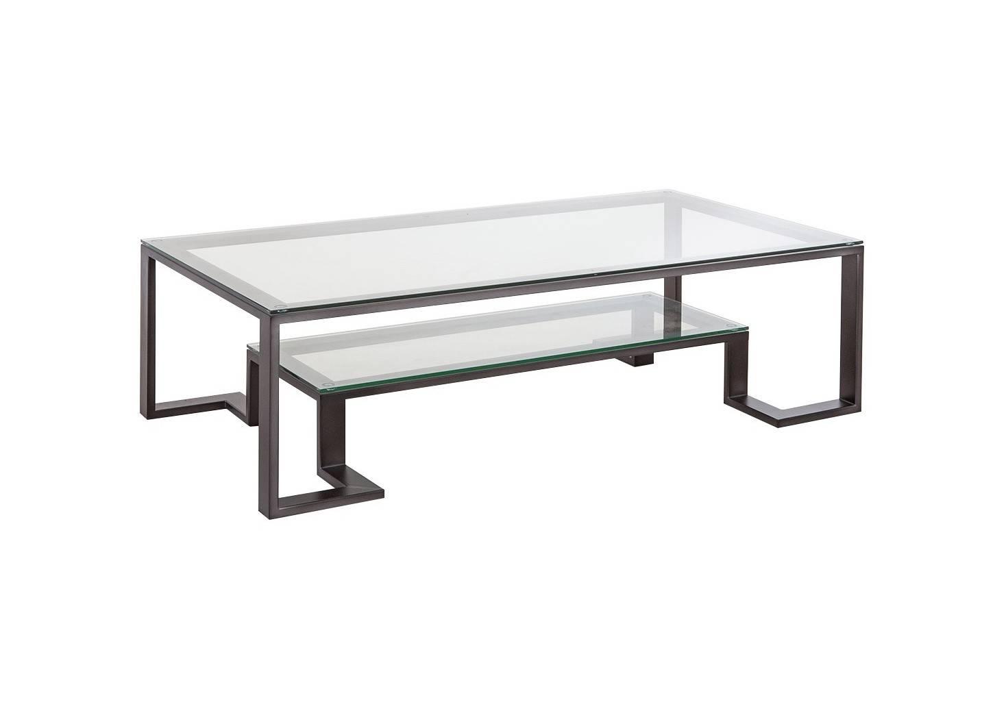 Table basse Roberto rectangulaire en verre