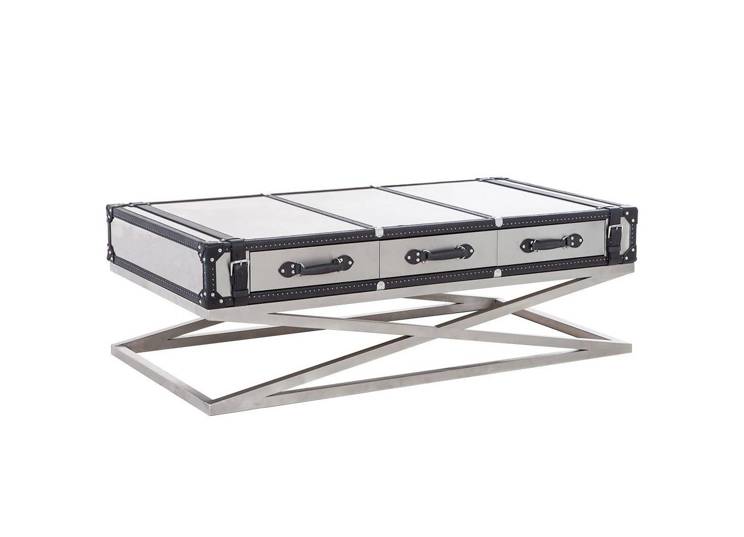 Table basse Kana en aluminium